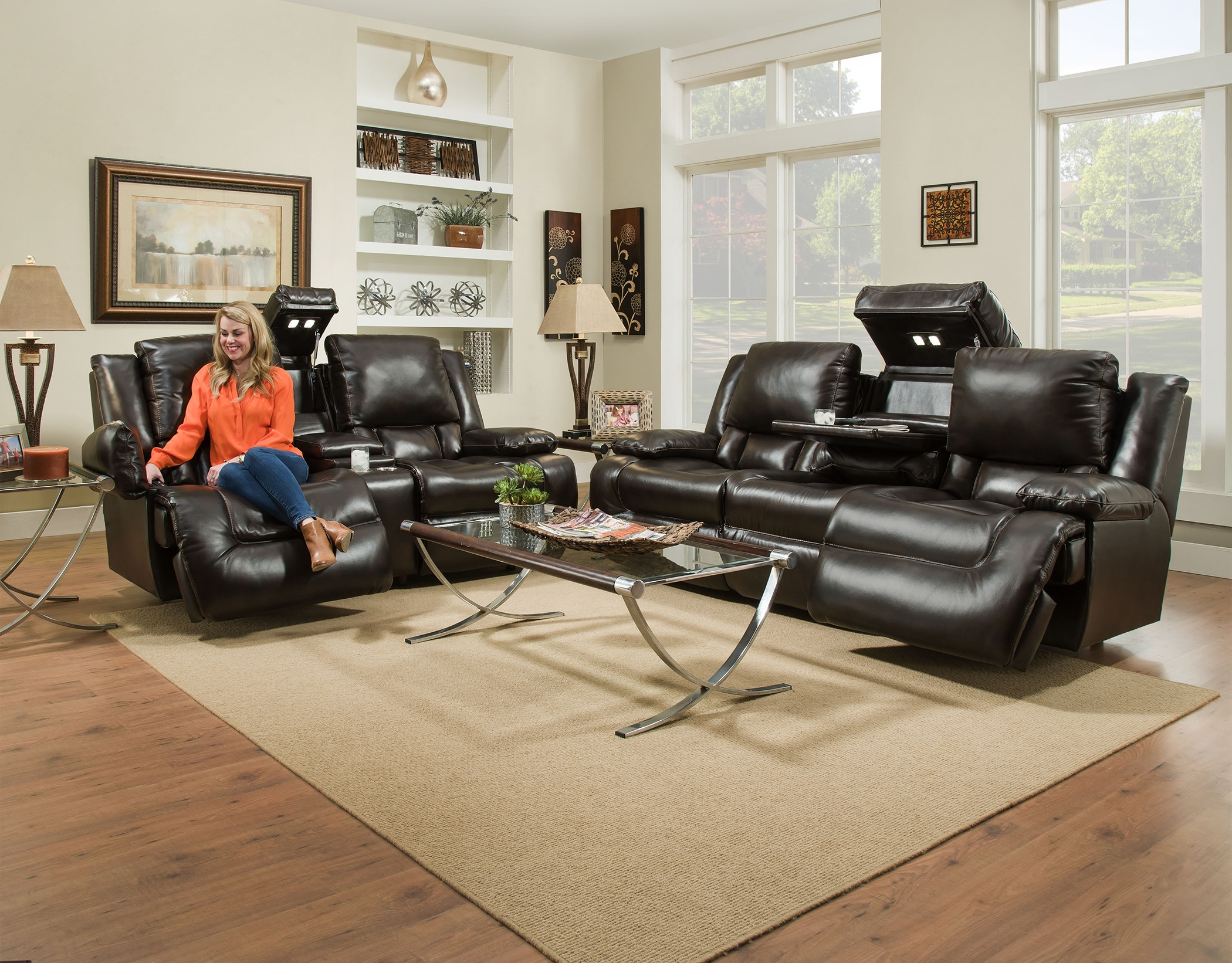 Fine Excalibur Leather Power Reclining Sofa Caraccident5 Cool Chair Designs And Ideas Caraccident5Info