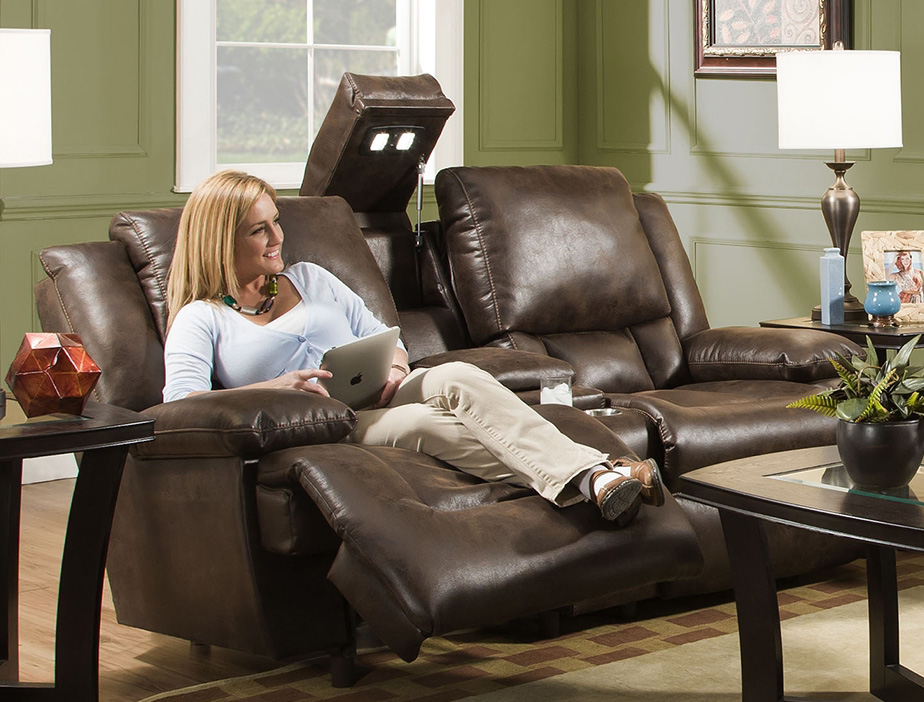 Amazing Excalibur 743 Reclining Sofa W Power Headrest Sofas And Caraccident5 Cool Chair Designs And Ideas Caraccident5Info