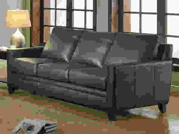 Fletcher 6287B Leather Sofa - IN STOCK FAST FREE DELIVERY