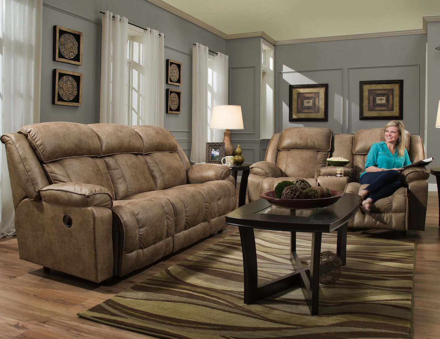 Pleasing Marshall 717 Reclining Sofa In Camel Fabric Sofas And Squirreltailoven Fun Painted Chair Ideas Images Squirreltailovenorg