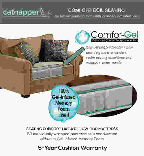 4427 Catnapper Top  Gun Bonded Leather Recliner