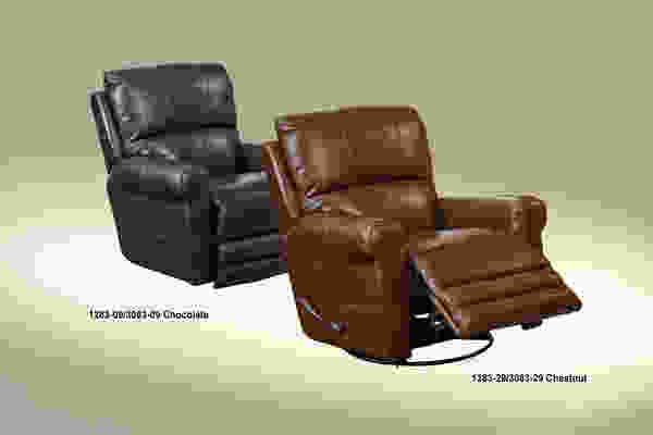 4766 Hoffner Leather Touch Recliner