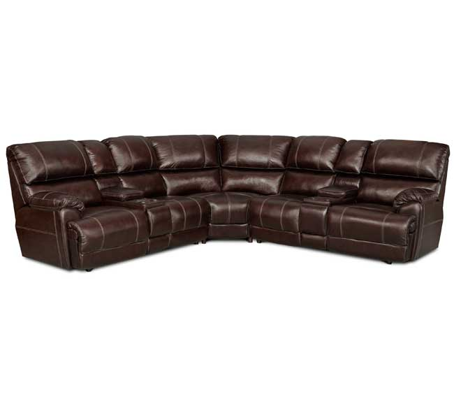 sc 1 st  Sofas and Sectionals & Presley 572 Reclining Sectional in Chocolate | Sofas and Sectionals islam-shia.org