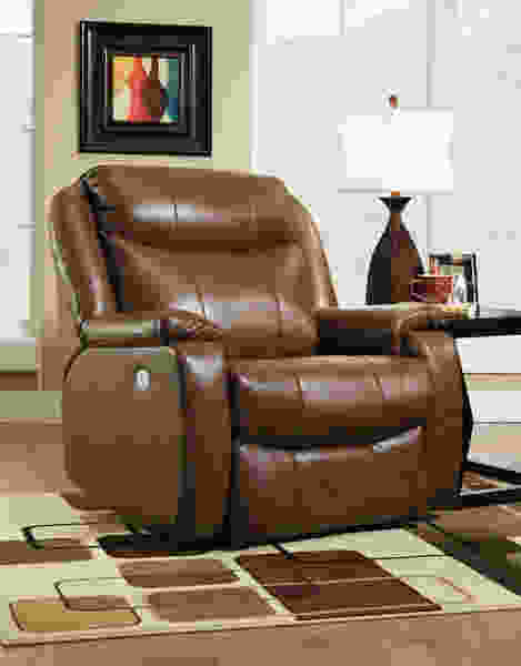Hercules 6240P BIG MAN'S Wall Hugger Recliner /w Power Headrest
