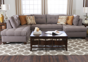 Barton K39400 Sectional Hundreds Of Fabrics And Colors By Klaussner