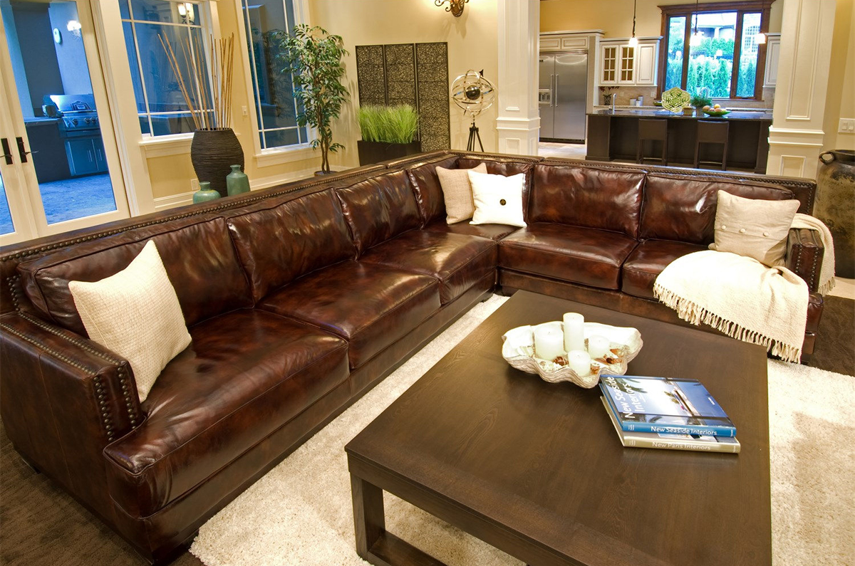 Awe Inspiring Easton 3 Pc Top Grain Leather Sectional In Sofas And Alphanode Cool Chair Designs And Ideas Alphanodeonline