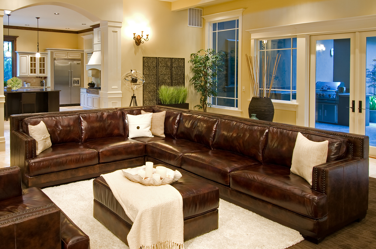 Excellent Easton 3 Pc Top Grain Leather Sectional In Sofas And Alphanode Cool Chair Designs And Ideas Alphanodeonline