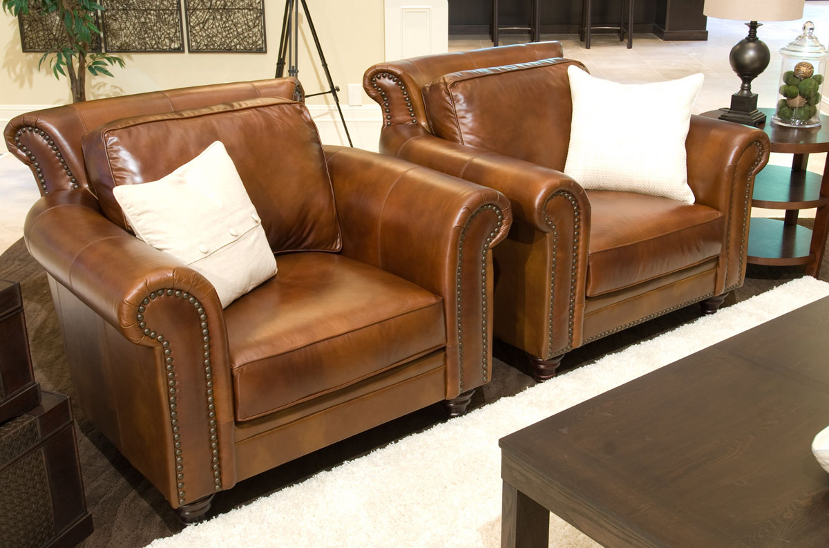 Paladia 4 Piece Top Grain Leather
