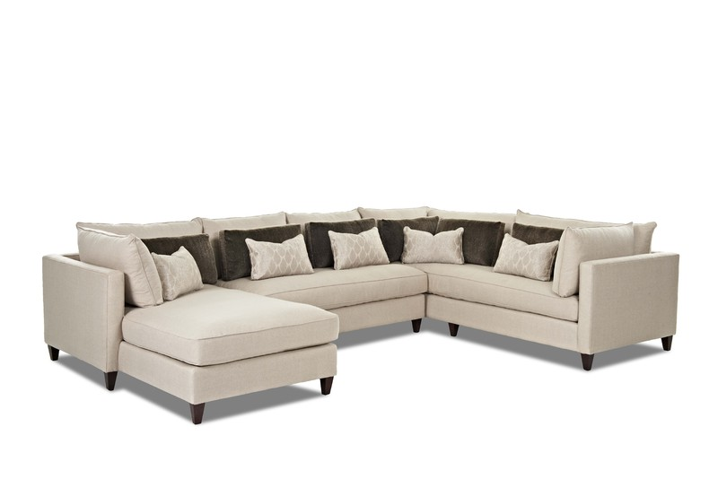 Arianna D92600 Sectional w/ Down Seating | Sofas and Sectionals