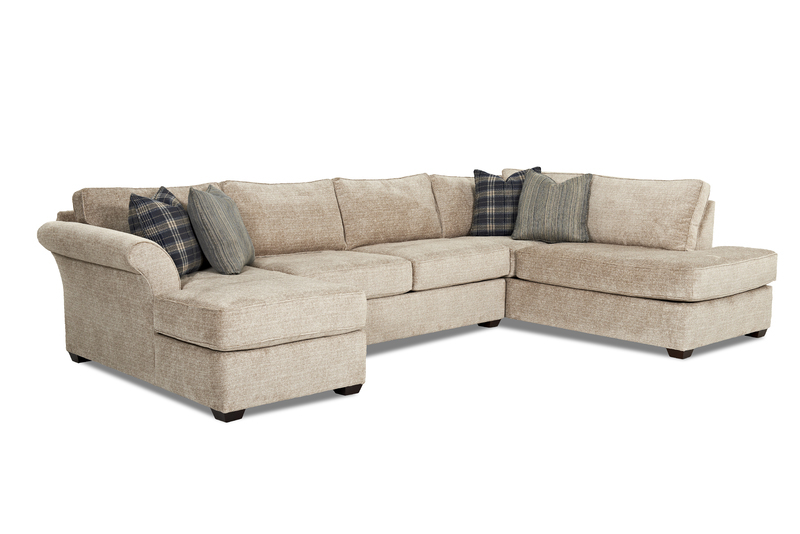As Shown: Layout A - Shown In Fabric: Porsche Smoke / Pillow: Belmont Metal / Pillow: Wired Slate