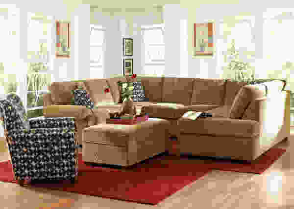Troupe K51360 Sectional - Fabrics in Many Colors