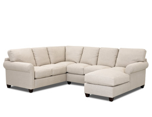 Barron D70220 Sectional - Hundreds of Fabrics and Colors  sc 1 st  Sofas and Sectionals : chaise sectionals - Sectionals, Sofas & Couches