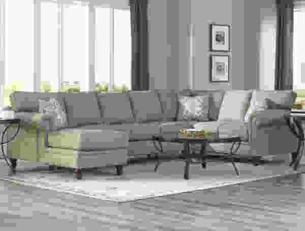 Carter K94400 Sectional (Non Nailhead) - Hundreds of Fabrics and Colors