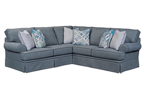 Emily 6263 Slipcover Sectional By Broyhill