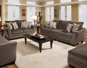 Abbott 811 Sofa Collection   Pillows Included. By Franklin