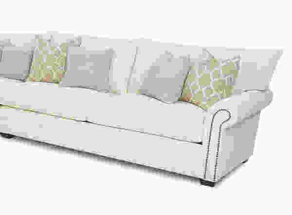 Huntley 41610 Sofa Collection w/ Nailhead - Hundreds of Fabrics and Colors