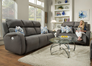 Fandango 884p Power Headrest Reclining Sofa Sofas And