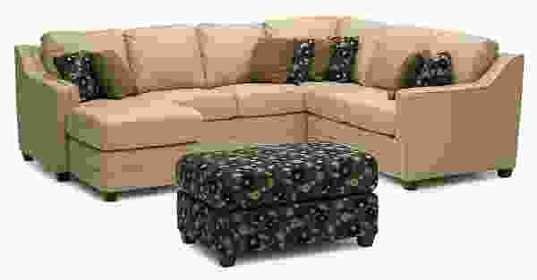 Corissa 77500 - 70500 Sectional - 450 Fabrics and Leathers