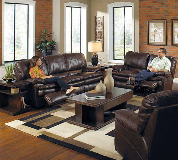 Catnapper Perez 414 Sofa Chestnut Sofas And Sectionals