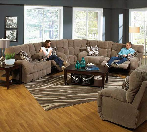 Catnapper Siesta 176 Sec Sofas And Sectionals