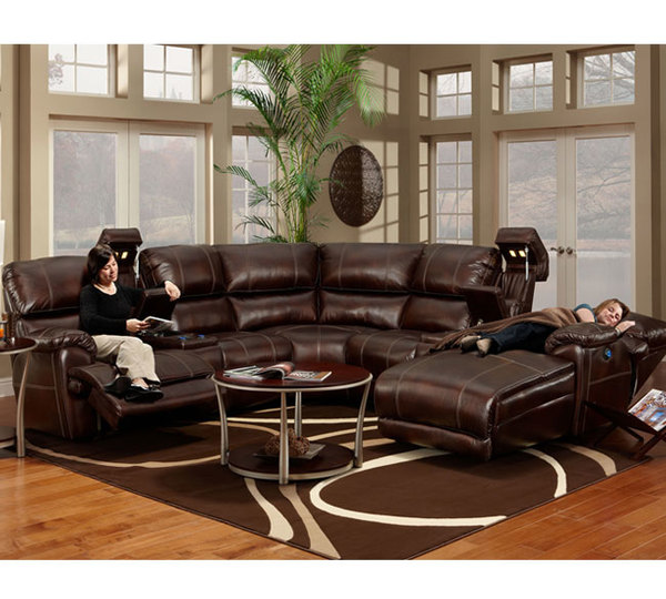 Franklin 572 Presley Sectional 8074 12