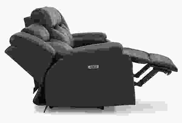 Delta 41054 Power Reclining Sofa Collection with POWER HEADREST
