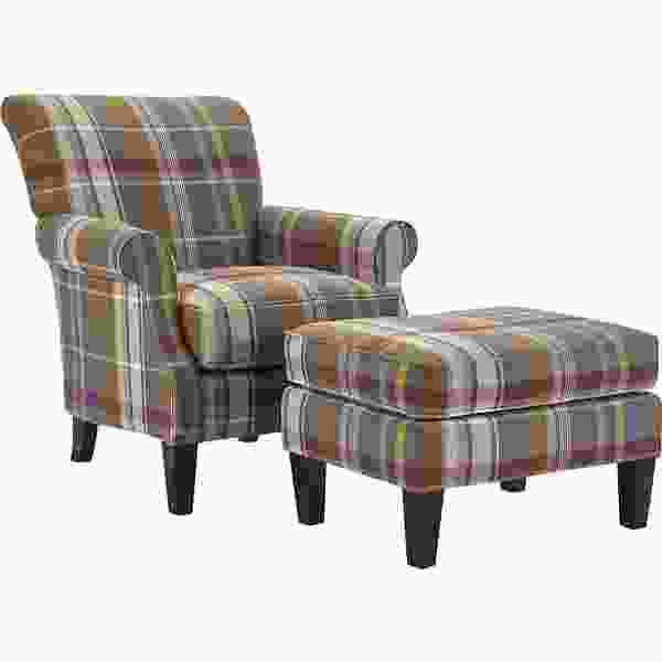Jordon 9031 Chair and Ottoman