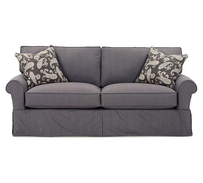 Rowe Slipcovered Sofa Barnett Furniture Rowe Addison Slipcover Thesofa