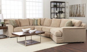 Ashburn K67400 Sectional - Hundreds of Fabrics and Colors. By Klaussner : klaussner sectional sofa - Sectionals, Sofas & Couches