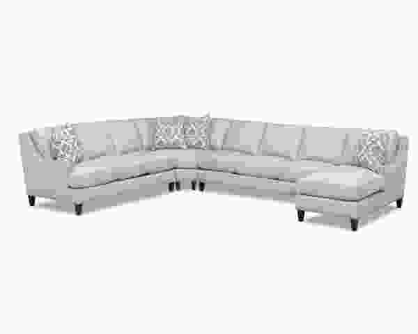 Duchess D40600 Sectional w/ Nailheads - Hundreds of Fabrics and Colors