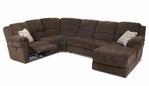Arden 55103 Reclining Sectional By Klaussner