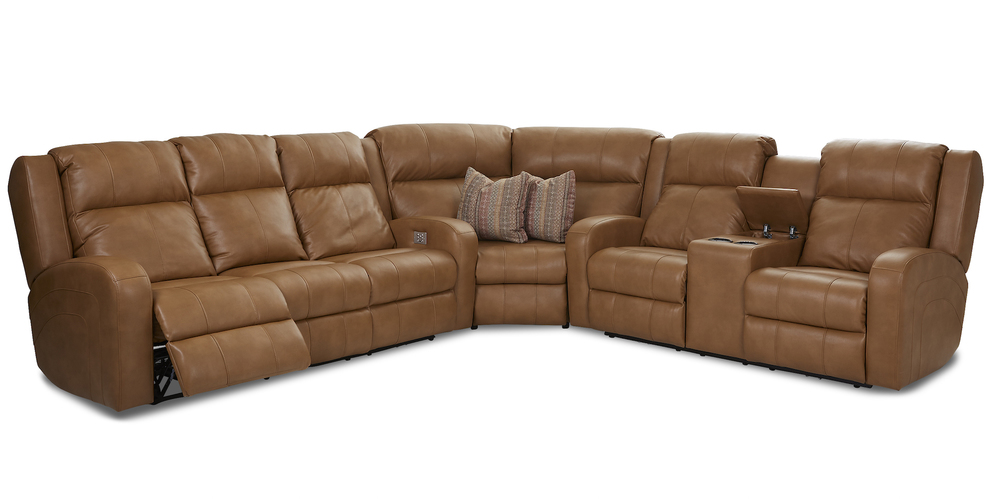 Fabulous Robinson 64943 Reclining Sectional Power Sofas And Sectionals Squirreltailoven Fun Painted Chair Ideas Images Squirreltailovenorg