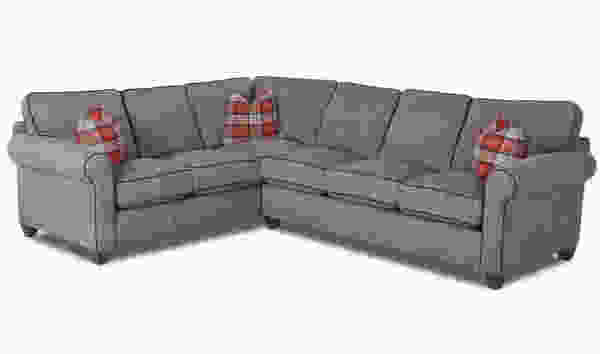 Lillington D70230 Sectional (Contrast Welt) - Fabrics in Many Colors