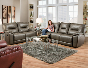 Dynamo 590 Reclining Sofa - Choice of Colors : deep cushion sectionals - Sectionals, Sofas & Couches
