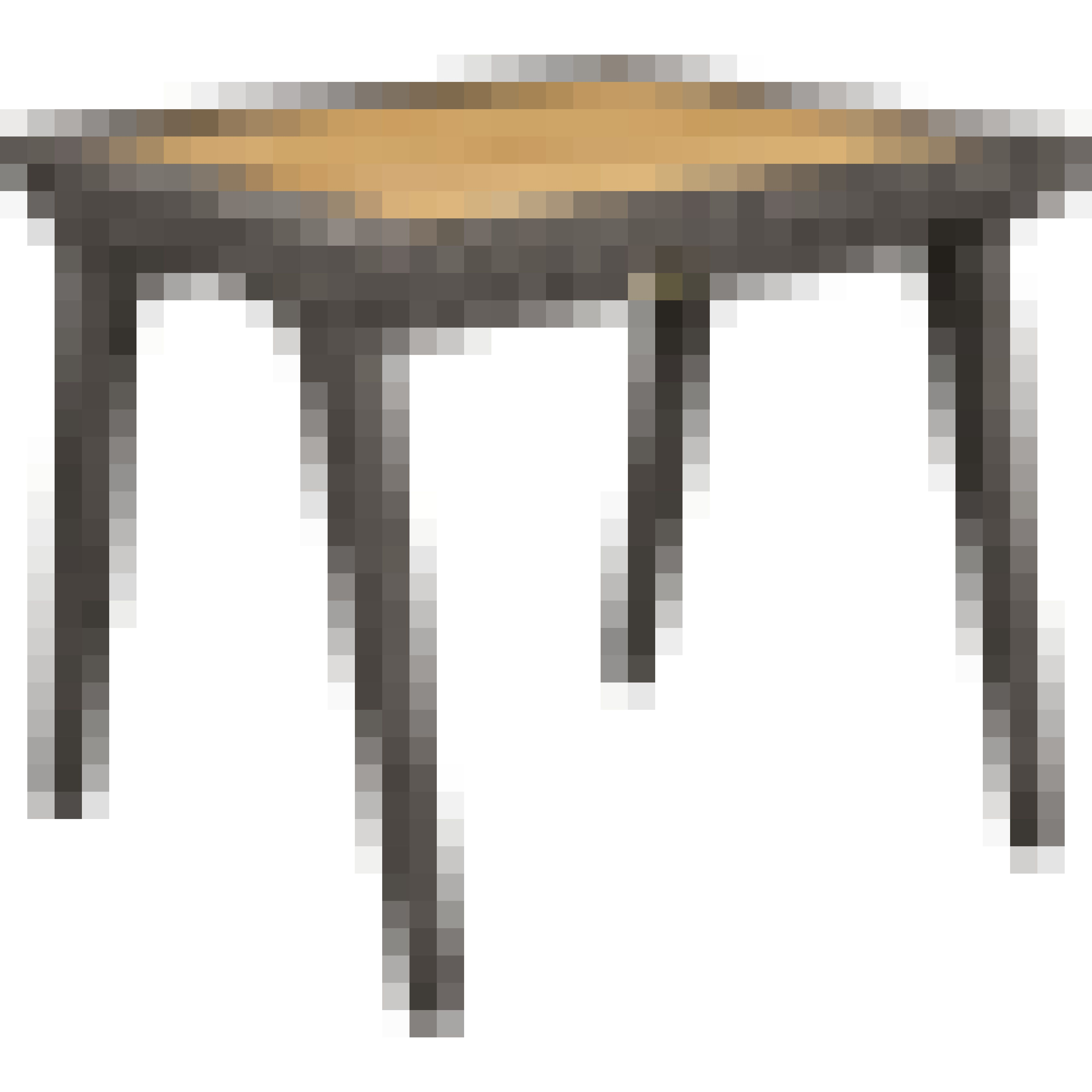 Cooper outdoor teak and wicker end table sofas and for Teak side table outdoor