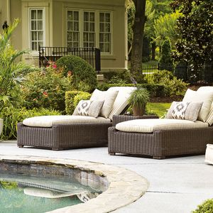 fillmore outdoor wicker chaise lounge - Discontinued Patio Furniture