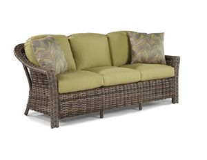 St. Simons Outdoor Wicker Sofa