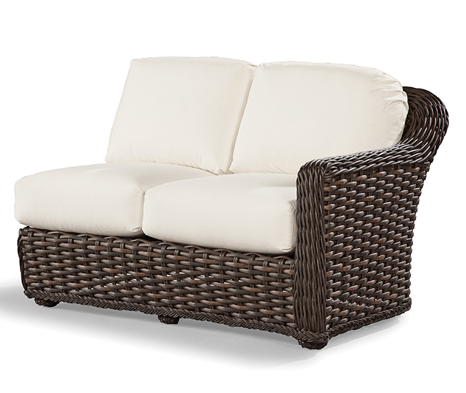 Marvelous South Hampton Outdoor Rf One Arm Loveseat Sofas And Sectionals Pabps2019 Chair Design Images Pabps2019Com