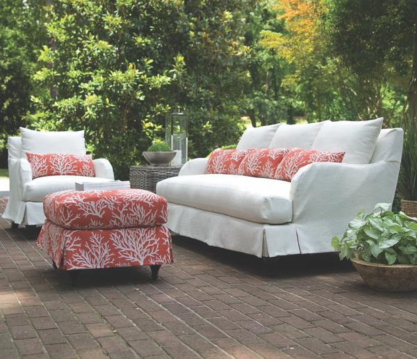 Colin Outdoor Slipcover Sofa Collection