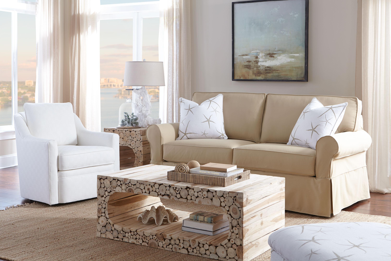 Nantucket 2 seat slipcover queen sleeper sofa rowe furniture rowe - Nantucket A910 Slipcover Sofa 350 Fabrics And Colors