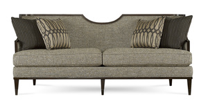 "Harper 83"" Wood Trimmed Sofa"