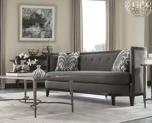 "Morgan Charcoal 84"" Sofa Collection"