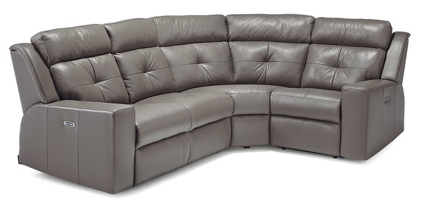 Grove Power Reclining Sectional W/ Power Headrests