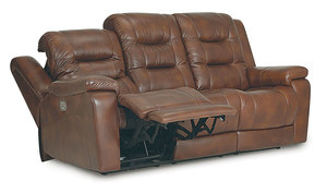 Palliser Leighton Power Reclining Sofa w/ Power Headrest