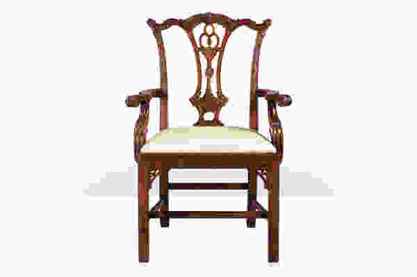 Mrs Chippendale's Formal Armchair