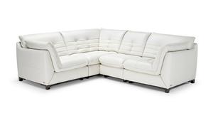 Intrigo *110% Top Grain Leather** Sectional  sc 1 st  Sofas and Sectionals : white sectional leather sofa - Sectionals, Sofas & Couches