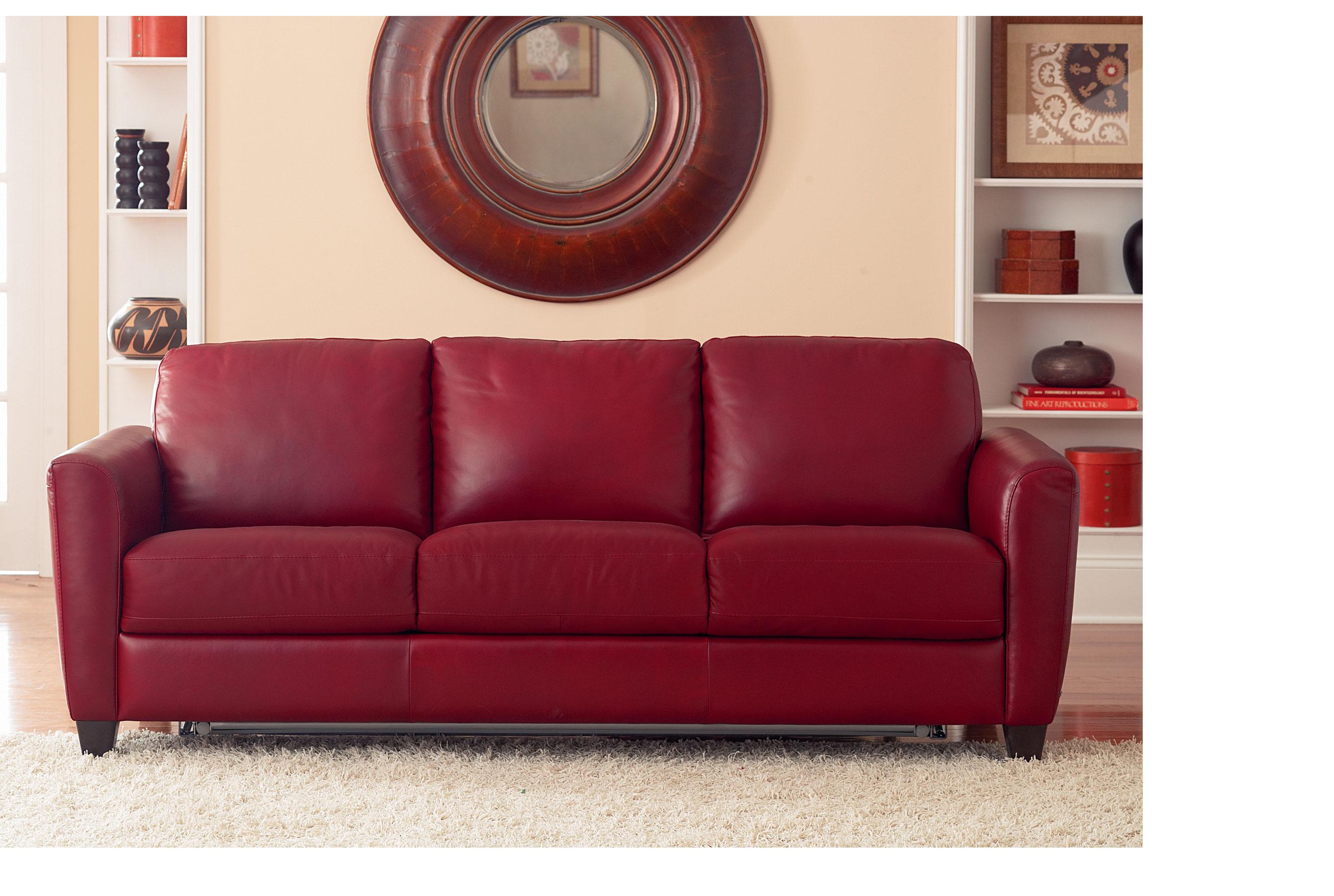 Top Grain Leather Sleeper Sofas