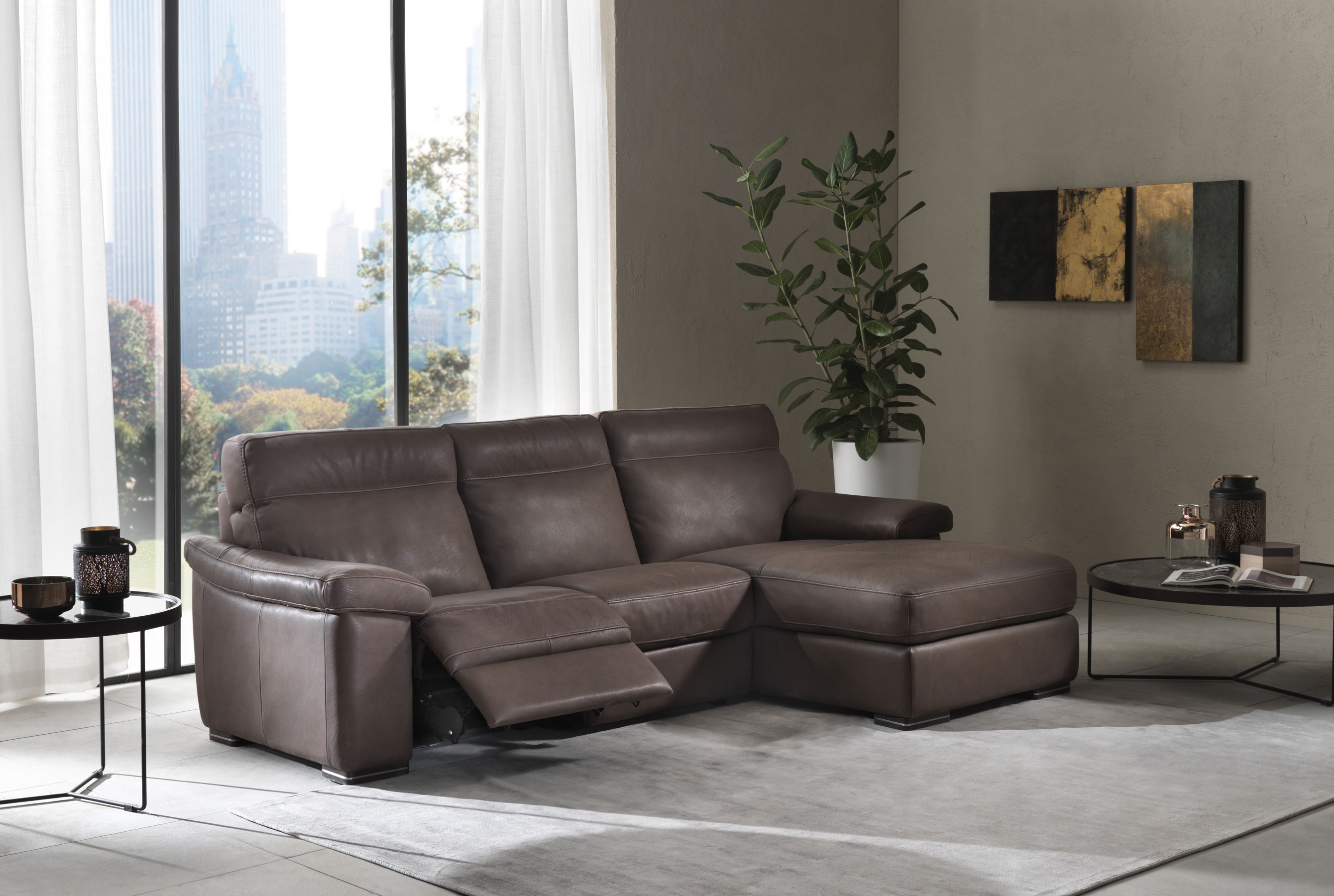 leather sectionals love reclining sectional wayfair you furniture ll