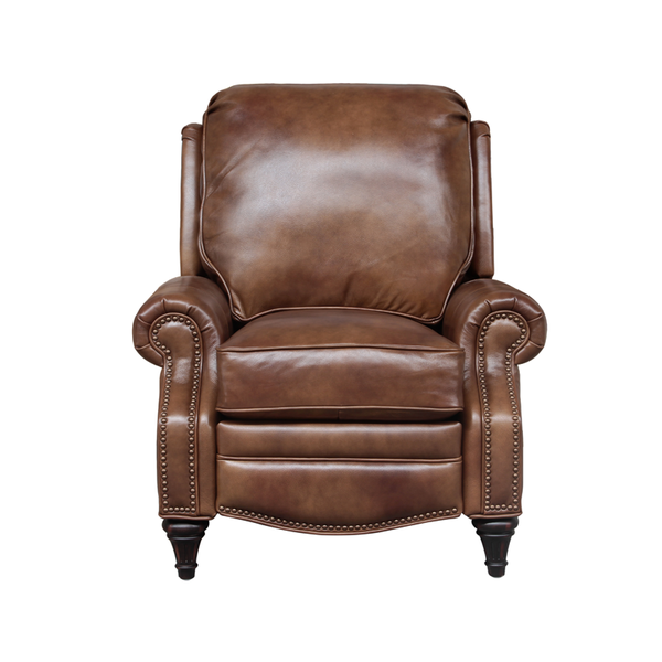 Avery Vintage Leather Recliner - IN STOCK FAST FREE SHIPPING