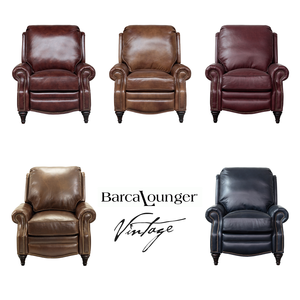 Avery Vintage Leather Recliner - IN STOCK FAST FREE SHIPPING. By Barcalounger  sc 1 st  Barcalounger | Sofas and Sectionals : barcalounger sectional - Sectionals, Sofas & Couches